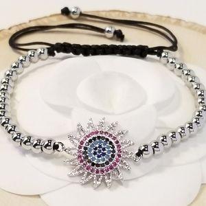 NEW Multi Colors Pave CZ Bracelet